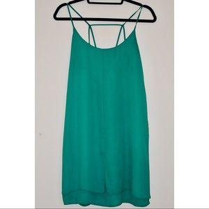 Sans Souci (Boutique Brand): Emerald Green Dress